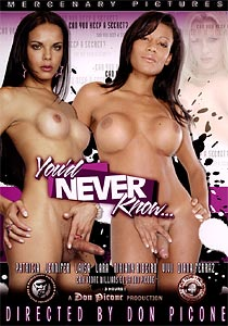 You'd Never Know #01 Front