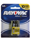Alkaline Batteries 2 Pack AA